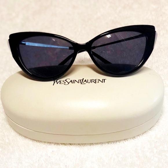 69a460c59c0b Yves Saint Laurent Cat Eye Sunglasses. M_5b4f94989e6b5b49365e73b7